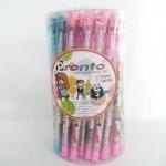 ดินสอต่อไส้มียางลบลายสิงโต (แพ็คกระป๋องละ 50 ด้าม)
