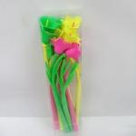 ปากกาเจลดอกไม้ (ขายส่งแพ็ค 12 ด้าม)