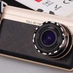 กล้องติดรถยนต์ AM1100 สีดำ ทอง