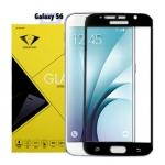 ฟิล์มกระจกนิรภัย Samsung S6 เต็มจอ ยี่ห้อ Diamond สีดำ