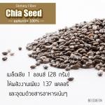 เมล็ดเชีย Chia Seed เมล็ดเจีย สุดคุ้ม 2ถุงส่งฟรี