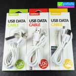 สายชาร์จ Micro USB (5 pin) REMAX USB Data Cable RM-209 แท้ 100%
