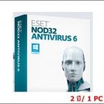 ESET NOD32 Antivirus 7 2 ปี/ 1PC (เฉพาะ Key-code)