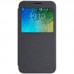 เคส Note4 ฝาพับ nillkin Sparkle Leather Case สีดำ