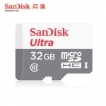 MicroSDHC SDCard 32 GB SanDisk MicroUltra SDHC Card Class 10 (48MB/s 320X)