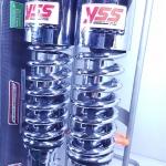 (แฟนทอม 150,200)โช้คอัพหลังคู่ YSS สำหรับรถรุ่น Honda แฟนทอม 150,200 สีชุบ