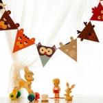 D.I.Y. - ชุดธงรูปสัตว์น่ารัก (Animal party)