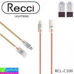 สายชาร์จ iPhone 5,6,7 Recci RCL-C100 ราคา 180 บาท ปกติ 540 บาท