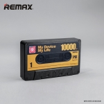 พาวเวอร์แบงค์ remax 10000 mAh TAPE สีดำ