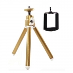 ขาตั้งกล้อง mobile holder สีทอง