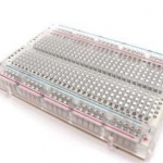Transparent Breadboard (420 holes) แบบใส