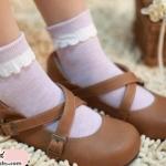 [พิเศษ 2 คู่ 100 ] ถุงเท้าระบายน่ารัก