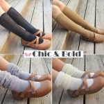 [พิเศษ 2 คู่ 130 ] ถุงเท้าตุยๆยาวสไตล์ญี่ปุ่น