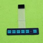 6 Key LED Matrix Membrane Switch Keyboard Control Board
