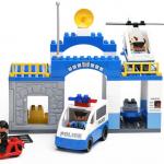 ตัวต่อเลโก้ สถานีรถตำรวจ Police station 51 ชิ้น