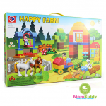 ตัวต่อเลโก้ Happy Farm 90 ชิ้น