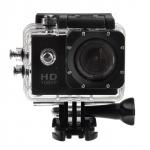 กล้องติดหมวก Action Camera สีดำ