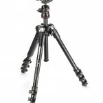 Manfrotto Compact lightweight tripod for travel photography