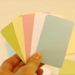 กระดาษการ์ดคละสี 230 แกรม (100 ใบ)