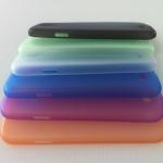 เคส SAMSUNG GALAXY S4 บาง 0.5mm ขาว ดำ ม่วง