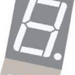 Seven Segment 1 Digit Red (Common Cathode)