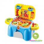 ชุดเครื่องมือช่าง อุปกรณ์ช่างซ่อม ของเล่นเด็ก Tools play set พับเก็บเป็นเก้าอี้ได้