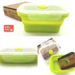 กล่องใส่อาหาร Silicone box