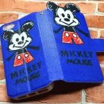 เคสไอโฟน6/6S เคสฝาเปิด การ์ตูนดิสนีย์ mickey mouse