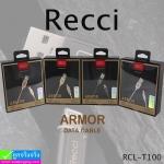 สายชาร์จ iPhone 5,6,7 Recci RCL-T100 ราคา 260 บาท ปกติ 780 บาท