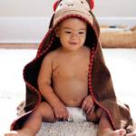 Skip Hop ผ้าเช็ดตัว ผ้าขนหนู ลายสัตว์น่ารัก ลายลิง