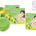 Mena Herbal soap - สบู่มีนา มะนาวสูตรขจัดแบททีเรีย ขนาด 150 กรัม