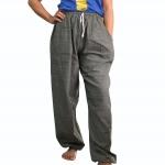 """กางเกงจินนี่ผ้าฝ้าย ดูดี เรียบง่าย ส่วมใส่สบาย ลวดลายในตัว ต้องสไตล์ """"JINNY"""" !!!FREE SIZE!!!"""