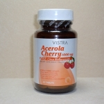 Vistra Acerola Cherry Vitamin C 1000 mg 45 Capsules