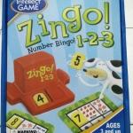 Zingo number bingo 123