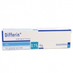 Differin Gel 0.1% (เล็ก) ดิฟเฟอริน เจล 15 G