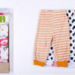 Carter's กางเกงขายาว คละลาย เซ็ท 5 ตัว ผู้หญิง Size 6 เดือน