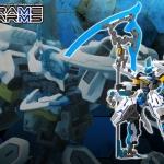 Frame Arms 1/100 NSG-X2 HRESVELGR = ATER Plastic Model