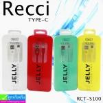 สายชาร์จ USB Type-C Recci RCT-S100 ราคา 85 บาท ปกติ 270 บาท