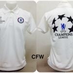 เสื้อโปโล เชลซี สีขาว CFW