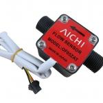 OF05ZAT High-precision Flow Sensor Meter for Water Oil Kerosene High Density Liquid G1/2