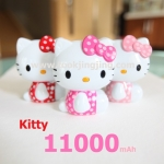 แบตสำรอง คิตตี้ Power Bank Kitty 11000 mAh ลายจุด