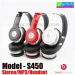 หูฟัง บลูทูธ ไร้สาย Monster Beats solo HD S450 Bluetooth Stereo Headset
