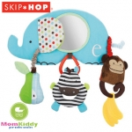 โมบายติดรถเข็น ติดคาร์ซีท รูปช้าง Skip Hop Stroller Bar Activity Toy, Elephent Alphabet Zoo