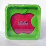 กรอบรูป apple สีเขียว ขนาด 13.5*13.5 ซม. รหัส 1691