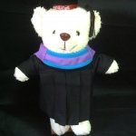 ตุ๊กตาหมีชุดครุย ของขวัญรับปริญญา ตุ๊กตาหมีรับปริญญา ม. สงขลานครินทร์