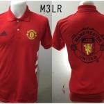 เสื้อโปโล แมนเชสเตอร์ ยูไนเต็ด ปี2015 สีแดง M3LR