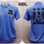 เสื้อโปโล แมนเชสเตอร์ ซิตี้ สีฟ้า MPL