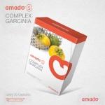 Amado S complex garcinia อมาโด้ เอส กระชับสัดส่วน กล่องส้ม