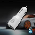 ที่ชาร์จในรถ remax Car Charger USB 2 Port RCC-201