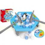เกมส์ทุบน้ำแข็งเพนกวินสะเทือน (Funny Penguin Trap)